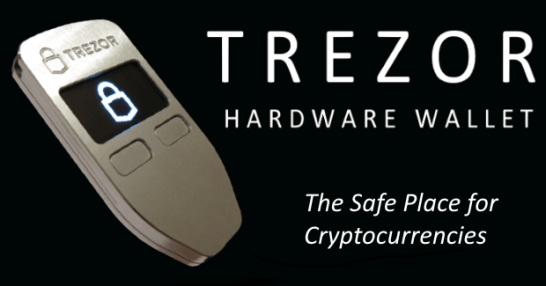 Trezor Cryptocurrency Hardware Wallet